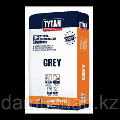 Штукатурка цементная TYTAN GREY BS33