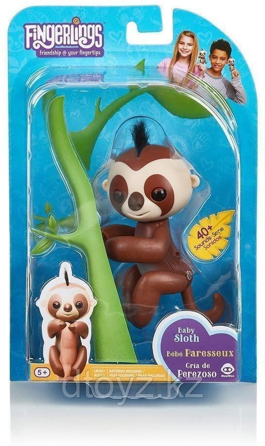 WowWee Интерактивная Ленивец Fingerling Sloth