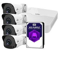 Комплект видеонаблюдения WiFi - KIT / NVR301-04LB-W / 4×IPC2122SR3-F40W + HDD 2 Tb