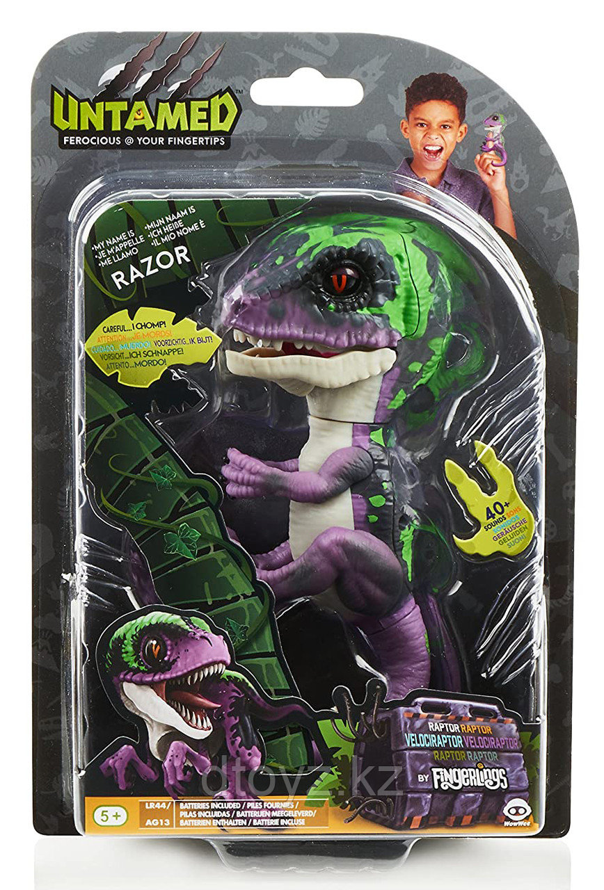 WowWee Интерактивная Раптор Fingerling Raptor