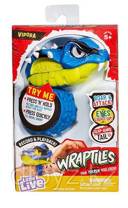 Little Live Pets Интерактивная игрушка-браслет Wraptiles Рептилия-Гадюка