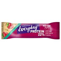Протеиновый батончик EVERYDAY 22% PROTEIN клубника со злаками 40 гр