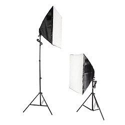 Софтбокс двойной (комплект студийного оборудования Falcon Eyes KeyLight 825LED SB5070 KIT)