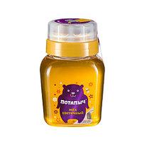 Мёд натуральный ПОТАПЫЧЪ цветочный в банке с дозатором 500 гр