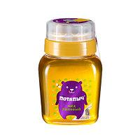 Мёд натуральный ПОТАПЫЧЪ липовый в банке с дозатором 500 гр