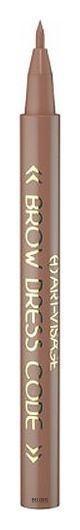 Фломастер для бровей Art Visage Brow Dress Code тон 802 коричневый