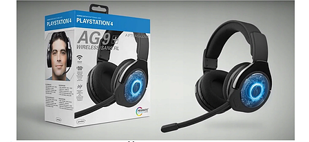 Наушники для PS4 wireless Afterglow AG9 PDP, фото 2
