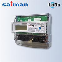 Трехфазный многотарифный счетчик Дала R TX IP П RS Д LoRaWAN СА4-Э720 (10-100А 3х220/380В) на дин-рейке