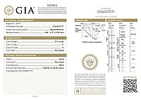 Сертификат GIA 0,41Сt I1/K  Very Good-Cut