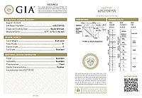 Сертификат GIA 0,40Сt I1/K  EX-Cut