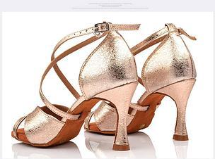 Обувь для танцев на каблуке