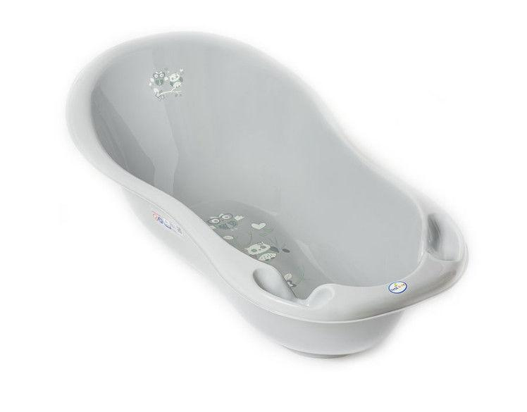 ТЕГА Ванночка 86см OWL (СОВЫ) серый