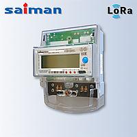 Однофазный многотарифный счетчик Орман R TX IP P П RS LoRaWAN СО-Э711 (5-60А 220В) на дин-рейке
