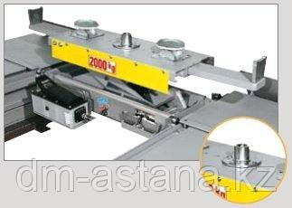 Канавный домкрат (траверса) пневмогидравлический г/п 2000 кг Ravaglioli J20PNX