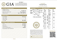 Сертификат GIA 0,40Сt I1/K VG-Cut