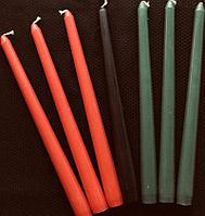Свечи восковые   19см  и 26 см, фото 1