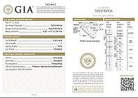 Сертификат GIA 0,40Сt VVS2/I EX-Cut