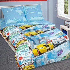 """Детское постельное бельё """"Суперкар"""", р-р 1,5 спальный"""