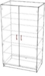 Шкаф хозяйственный 800x600x1800
