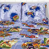 """Детское постельное бельё """"Супергерои"""", р-р 1,5 спальный, фото 2"""
