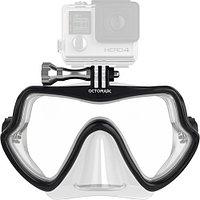 Подводная маска для GoPro Octomask Frameless Scuba Mask