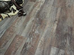 Кварцвиниловая плитка клеевая FineFloor Wood Дуб Этна