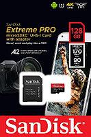 Карта памяти SanDisk Extreme Pro microSDXC UHS-I 128GB 170Mb/s