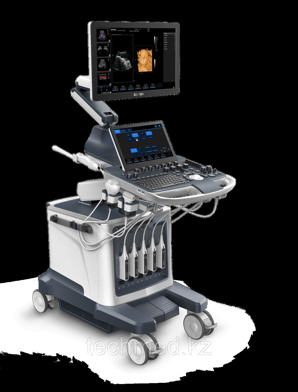 УЗИ Сканер  Zoncare Q9 -  Полностью цифровая допплеровская диагностическая система Премиум класса