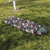 Армейский спальный мешок камуфляжный