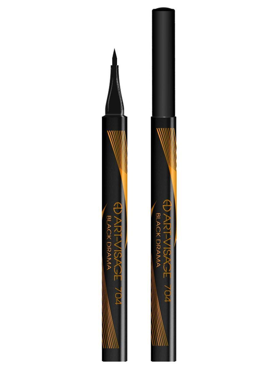 Art-Visage / Лайнер для глаз, тон 704 BLACK DRAMA