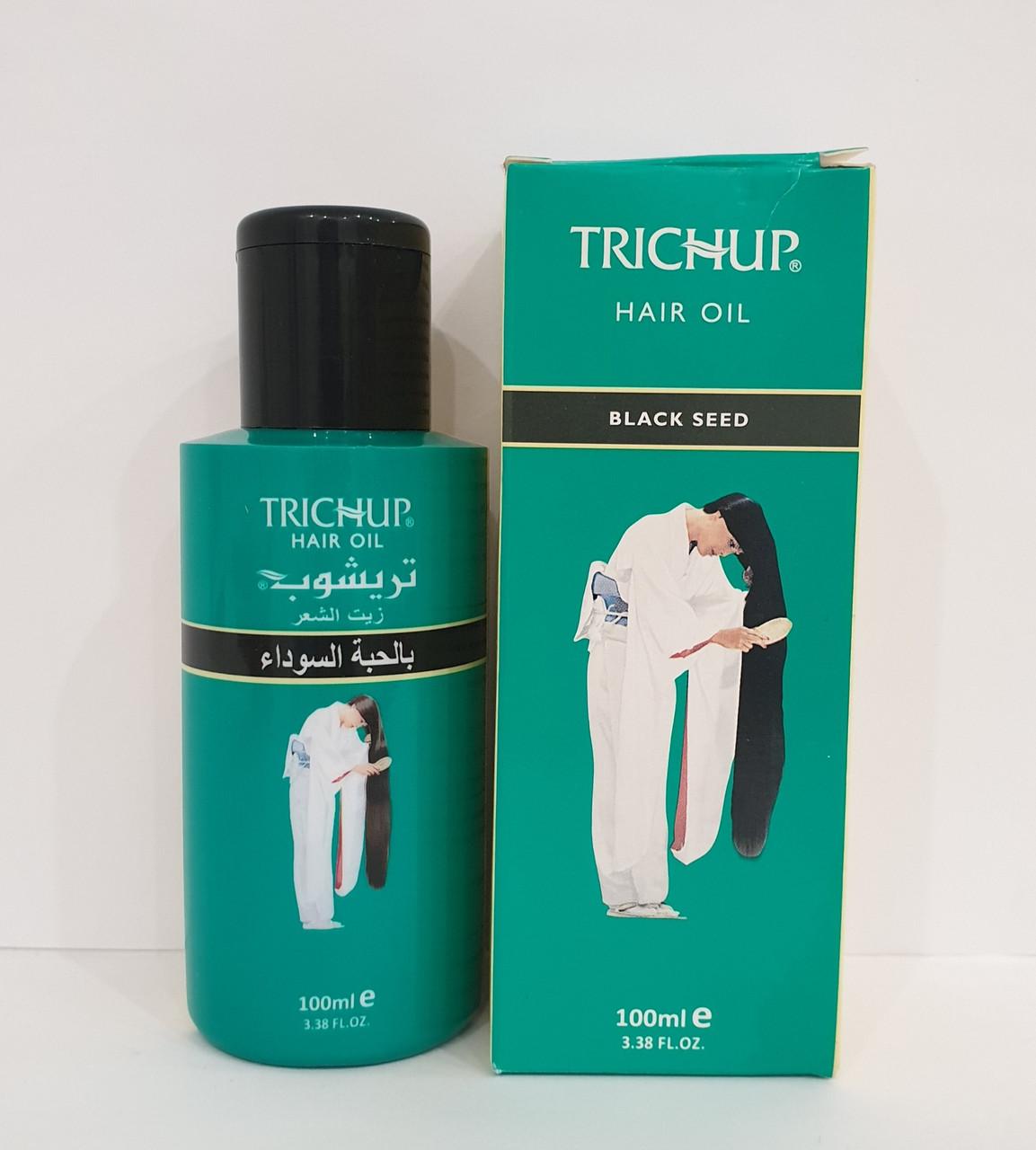 Тричап масло с Черным Тмином Trichup Hair Oil Black Seed VASU, 100 мл