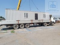 Жилой контейнер под торговое помещение с кассой из 40 футового контейнера, фото 1