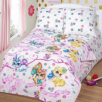 Детское постельное бельё Хвостики, р-р 1,5 спальный