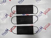 Черные одноразовые маски
