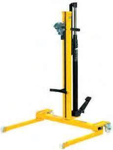 Тележка с гидравлическим подъемником для бочек 180/220 л Meclube 030-1408-000