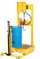 Тележка с гидравлическим подъемником для бочек 180/220 л Meclube 030-1408-000, фото 2