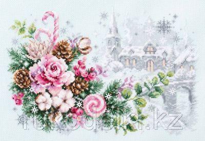 """Набор для вышивания крестом """"Рождественское настроение"""""""