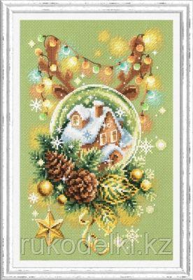"""Набор для вышивания крестом """"Светлое рождество"""""""