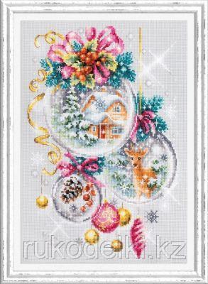 """Набор для вышивания крестом """"Рождественская сказка"""""""
