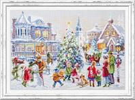 """Набор для вышивания крестом """"Накануне Рождества"""""""