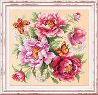"""Набор для вышивания крестом """"Магия цветов. Пионы"""""""