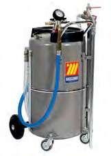 Промышленный пневматический сборник жидкостей Meclube 90 л  040-1427-000