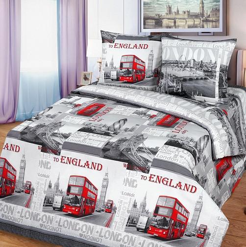 """Постельное бельё """"Лондон"""", р-р 1,5 спальный"""