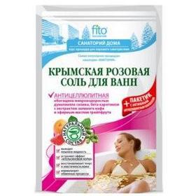 Соль для ванн ФИТОкосметик Крымская розовая антицеллюлитная 530гр