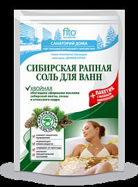 Соль для ванн Сибирская рапная Хвойная 530гр