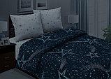 Постельное бельё Сириус, р-р 1,5 спальный (светится в темноте), фото 4
