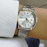Часы женские CASIO LTP-1183G-7ADF Silver-Gold