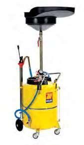 Пневматический сборник масла 120 л с воронкой Meclube 040-1433-000