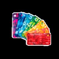 RFID брелок ISBC Mifare ID 4 byte nUID (красный)