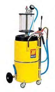 Пневматический сборник масла 120 л с колбой Meclube 040-1438-000